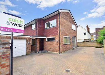 Thumbnail 3 bed detached house for sale in Woodbridge Avenue, Leatherhead, Surrey