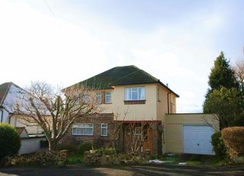 Thumbnail 3 bed detached house for sale in Marlpit Avenue, Coulsdon