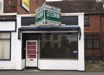 Thumbnail Retail premises to let in South Street, Ilkeston Derbyshire