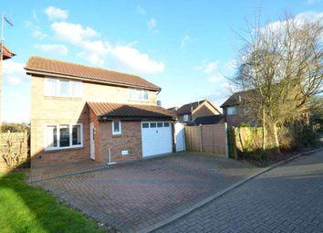 Thumbnail 4 bedroom detached house for sale in Develin Close, Neath Hill, Milton Keynes, Buckinghamshire