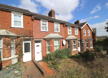 Thumbnail 2 bed terraced house for sale in Whitley Road, Roselands, Eastbourne