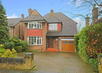 Thumbnail 4 bed detached house for sale in Craigweil Avenue, Radlett