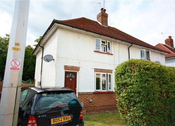 Thumbnail 2 bed semi-detached house for sale in Cedar Way, Guildford, Surrey