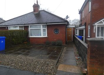 Thumbnail 1 bed bungalow to rent in Parkhead Drive, Longton, Stoke-On-Trent