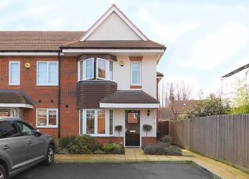 Thumbnail 3 bed end terrace house for sale in Soprano Way, Esher
