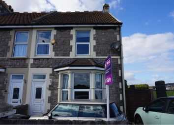 Thumbnail 4 bed end terrace house for sale in Drove Road, Weston-Super-Mare