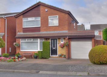 Thumbnail 3 bed detached house for sale in The Wynding, Bedlington