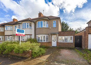 Thumbnail 3 bed end terrace house for sale in Chelston Road, Ruislip