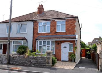 Thumbnail 3 bedroom semi-detached house for sale in Southville Road, Weston-Super-Mare