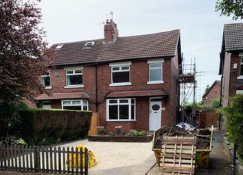 Thumbnail 4 bed semi-detached house for sale in Lidgett Place, Roundhay, Leeds