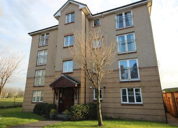 Thumbnail 2 bed flat for sale in Queens Court, Stenhousemuir, Larbert