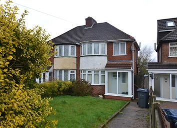 Thumbnail 3 bedroom semi-detached house to rent in Fowlmere Road, Great Barr, Birmingham