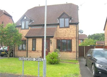 Thumbnail 2 bed semi-detached house to rent in Kingswood Drive, Kirkby-In-Ashfield, Nottingham