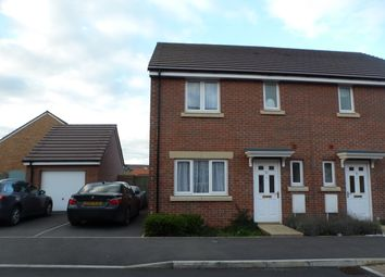 Thumbnail 3 bed semi-detached house to rent in Herman Way, Old Sarum, Salisbury
