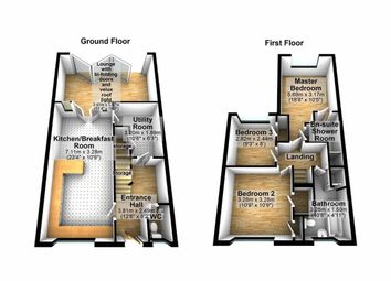 Thumbnail 3 bed terraced house for sale in Shephall View, Stevenage, Herts