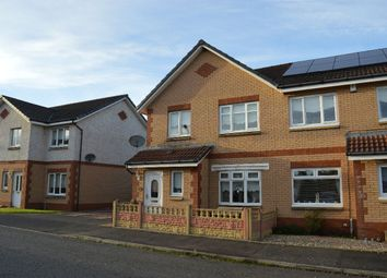 Thumbnail 3 bed semi-detached house for sale in Talbot Crescent, Aillsa Gardens, Coatbridge