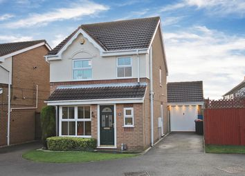 Thumbnail 3 bed detached house for sale in Oakham Drive, Selston