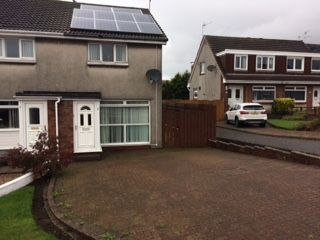 Thumbnail 2 bed semi-detached house for sale in Greenacres, Ardrossan