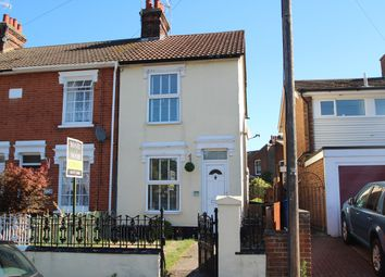 Thumbnail 3 bed end terrace house for sale in Nacton Road, Ipswich