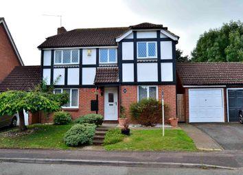 Thumbnail 4 bed detached house for sale in Egremont Drive, Lower Earley, Reading