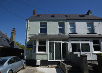 Thumbnail 3 bed semi-detached house for sale in Higher Fraddon, St. Columb, Cornwall