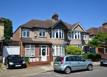 Thumbnail 1 bed flat to rent in Lowick Road, Harrow