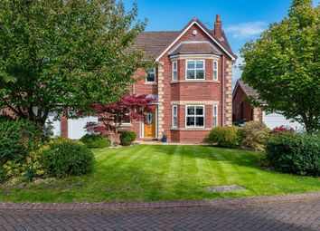Thumbnail 4 bed detached house for sale in Petersfield Gardens, Culcheth