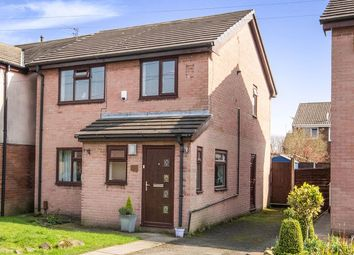 Thumbnail 3 bed detached house for sale in Redwood Drive, Audenshaw, Manchester