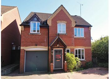 Thumbnail 4 bed detached house for sale in Nightingale Close, Lang Farm, Daventry