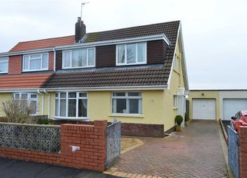 Thumbnail 3 bed semi-detached bungalow for sale in Beaufort Gardens, Kittle, Swansea