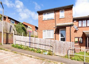 Thumbnail 1 bed end terrace house for sale in Illustrious Close, Walderslade, Chatham, Kent