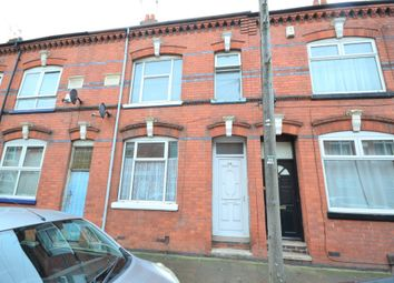 Thumbnail 3 bedroom terraced house to rent in Tudor Road, Leicester