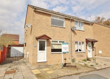 Thumbnail 2 bed semi-detached house to rent in Dale Close, Selby