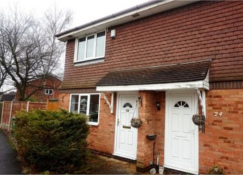 Thumbnail 1 bedroom semi-detached house for sale in Sorrel Drive, Tamworth