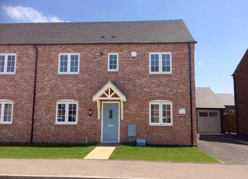 Thumbnail 3 bed semi-detached house for sale in The Lichfield C, Burton Road Tutbury, Staffordshire