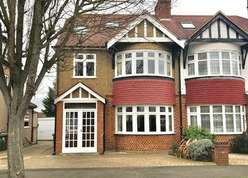 Thumbnail 4 bed semi-detached house for sale in Wrayfield Road, Cheam
