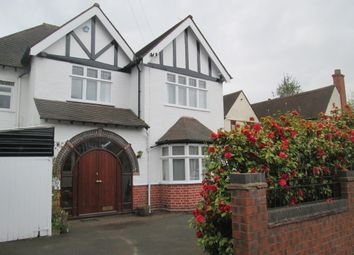 Thumbnail 4 bed detached house to rent in Elmdon Road, Selly Park, Birmingham