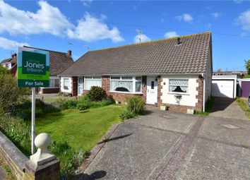 Thumbnail 2 bed semi-detached bungalow for sale in Silverdale Drive, Sompting, West Sussex