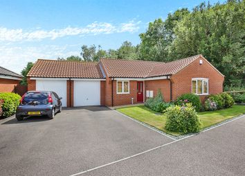 Thumbnail 2 bedroom detached bungalow for sale in Foxhouse Road, Costessey, Norwich