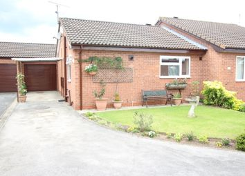 Thumbnail 1 bed semi-detached bungalow for sale in Ackford Drive, Worksop