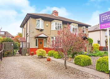 Thumbnail 3 bed semi-detached house for sale in Weston Lane, Otley