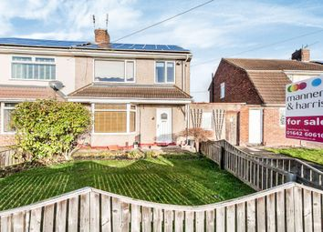 Thumbnail 3 bedroom semi-detached house for sale in Rothwell Crescent, Stockton-On-Tees