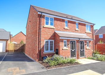 Thumbnail 2 bed semi-detached house for sale in Naseby Close, Stratford-Upon-Avon