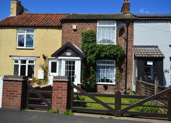 Thumbnail 2 bed terraced house for sale in Bridlington Road, Burton Fleming, Driffield