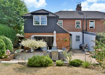 Thumbnail 4 bed semi-detached house for sale in Hurtmore Road, Hurtmore, Godalming