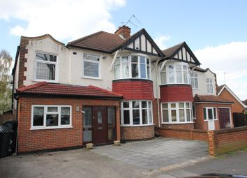 Thumbnail 4 bed semi-detached house to rent in Elgar Avenue, Berrylands, Surbiton