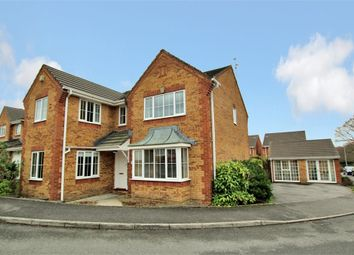 Thumbnail 4 bed detached house for sale in Baltimore Close, Pontprennau, Cardiff