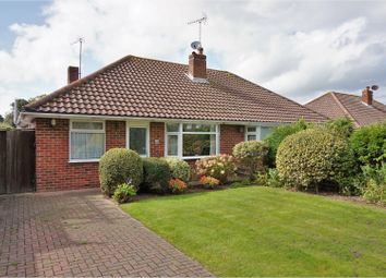 Thumbnail 2 bed semi-detached bungalow for sale in Old Manor Road, Rustington