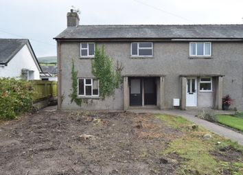 Thumbnail 3 bed end terrace house for sale in Burlington Close, Kirkby-In-Furness, Cumbria
