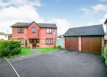 Thumbnail 3 bed detached house for sale in Meirwen Drive, Culverhouse Cross, Cardiff